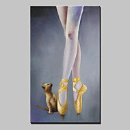 mão grande dançarino pintura e pintura a óleo sobre tela filhotes para sala de estar retrato da arte da parede pronto para pendurar