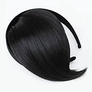 natuurlijke zwarte Han editie van de nieuwe valse schuine knal hebben bandjes (natuurlijk zwart)