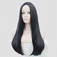 luz rubia piel durante mucho tiempo parte superior recta pelucas opciones de color pelucas de pelo sintético! 6colors!