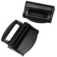 ziqiao 1 paire de ceintures de sécurité de voiture clip sécurité butée réglable boucle clip en plastique