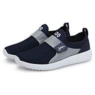 Sko-Tyll-Flat hæl-Komfort-Hyttesko-Fritid-Svart / Blå / Grå