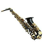 Heng rimer sort krop guld-bundet dråbe e alto saxophone bxh - 818 - j brugerdefinerede sække