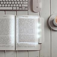 17.8 * 17 * 1.5cm 0.6W flat-panel lampada di lettura la lettura protegge un occhio lampada ha condotto la luce