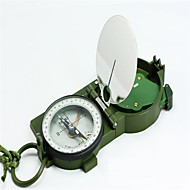 Compasses Multi Function / Convenient / Military / Pocket Hiking / Camping / Travel / Outdoor Alloy Metal Green