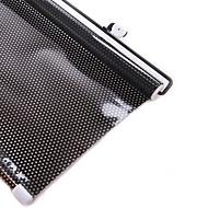 fekete pontok pvc auto szélvédő napvédők nap védő 58 * 125cm