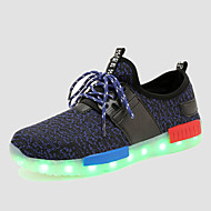 LED Shoes Boys' Shoes Casual Synthetic Fashion Sneakers Black / Blue / Green / Red