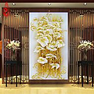 DIY 5D diamond Painting crystal lily flower Cross Stitch Decorative Needlework diamond mosaic 100*50cm