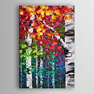 יד בנוף ציור צייר שמן עץ מופשט צבע בגרגירי arts® קיר מסגרת 7 נמתחה