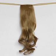 voda vlna béžová blond syntetický typ obvaz vlasy paruka cop (barevný 27x)
