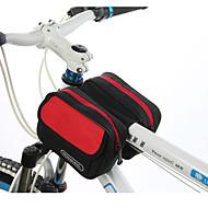 ROSWHEEL® Sykkelveske 1.7LVesker til sykkelramme Vanntett Glidelås Fukt-sikker Støtsikker Anvendelig Sykkelveske PVC Klede Terylene