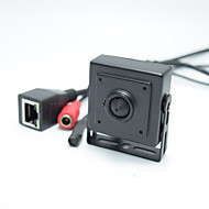 1080p graus angle140 largas ip audio câmera de vídeo 2.0megapixel ip câmera de 2,1 milímetros pinhole cam microfone rede P2P