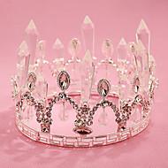 Mujer / Niña de flor Diamantes Sintéticos / Cristal Celada-Boda / Ocasión especial / Al Aire Libre Tiaras 1 Pieza