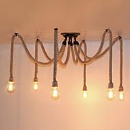 Privjesak Svjetla ,  Vintage Painting svojstvo for Mini Style MetalLiving Room Bedroom Dining Room Kitchen Study Room/Office Ulazak Game