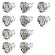 7W GU10 Lâmpadas de Foco de LED MR16 16 SMD 5630 560 lm Branco Frio Decorativa AC 220-240 V 10 pçs