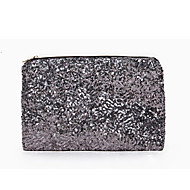L.WEST Women's The Fashion Leisure High-grade Metal Sequins Clutch