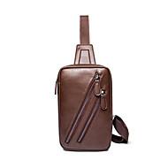 Formel / Sports / Décontracté / Extérieur / Bureau & Travail / Shopping-Cross Body Bag-Marron-uréthane Poly-Homme