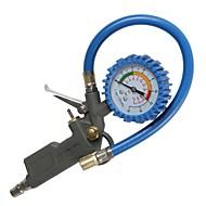 ziqiao 0-220psi sistema di monitoraggio del veicolo tester del pneumatico metro misuratore di pressione dei pneumatici auto ruota