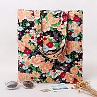 Women Silk / Cotton Casual / Shopping Shoulder Bag Purple / Red / Black