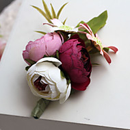 Wedding / Party / Evening Flowers Free-form Handmade Roses Boutonnieres