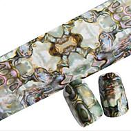 1pcs 100cmx4cm glitter nail folije naljepnica lijepi pero lijepi crtani usne noktiju Ukrasi DIY beauty stzxk06-10