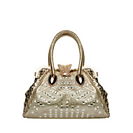 Women-Formal / Sports / Casual / Outdoor / Office & Career / Shopping-PU-Shoulder Bag-Gold / Silver