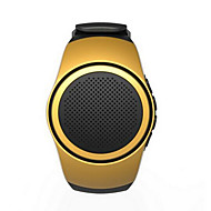 portable mains libres bluetooth montre de type carte de haut-parleur