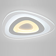24W Flush Mount ,  Modern/Contemporary for LED Metal Living Room / Bedroom / Dining Room / Kitchen