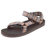 Men's Shoes  Athletic Sandals Outdoor / Athletic Upstream shoes Flat Heel Hook & Loop / Braided Strap Brown