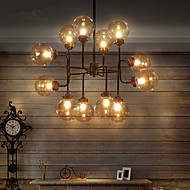 12 Chandelier ,  Modern/Contemporary Painting Feature for Designers Metal Living Room / Study Room/Office