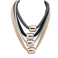 Multilayer Exaggerated Fashion Necklace Barrel