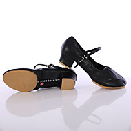 Sapatos de Dança(Preto / Vermelho / Outro) -Feminino-Personalizável-Latina / Tênis de Dança