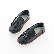 Childrens' Shoes Casual Leatherette Loafers & Slip-Ons Summer / Fall Moccasin / Comfort Tassel Black / Yellow / White