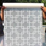 Contemporary  Geometric Pattern Window Film