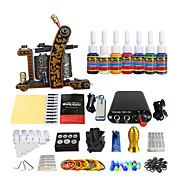 pacote de bobina de equipamentos máquina de tatuagem pacotes da cor (punho cor entrega aleatória)