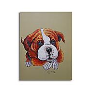 מצויר ביד בעלי חיים ציורי שמן,סגנון / מודרני / קלאסי / מסורתי / ריאליסטי / ים- תיכוני / פסטורלי / סגנון ארופאי פנל אחד בדציור שמן
