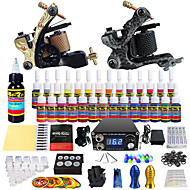 solong tattoo compleet tattoo kit 2 promachine s 28 inkten voeding naald grips tips