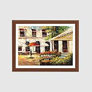 Ručně malované Abstraktní olejomalby,Moderní Jeden panel Plátno Hang-malované olejomalba For Home dekorace