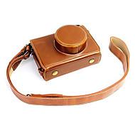 Fujifilm Camera X100s/X100t Leather Protective Half Case/Bag
