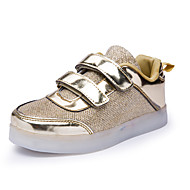 Boys' Shoes Athletic / Casual Synthetic Fashion Sneakers Pink / Silver / Gold