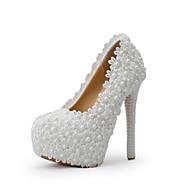 Women's Shoes Stiletto Heel Heels Heels Wedding / Party & Evening / Dress White /Green/Pink/Purple/Champagne