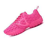 Women's Shoes Tulle Flat Heel Comfort Fashion Sneakers Athletic Black / Blue / Green / Pink / Fuchsia