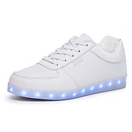 Running Shoes Men's Comfort / LED Light Luminous /Round Toe Flats Outdoor / Casual Flat Heel Shoes