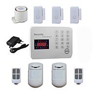 zloděj hlas lcd gsm poplašné systémy android pro bezpečnost domácí zabezpečení s 120 bezdrátové&2 kabelové alarma zóny