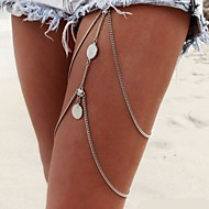 Body Jewelry/Leg Chain Body Chain Alloy Tassels Silver 1pc