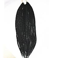 Box Braids twist Braids Hair Extensions 18 inch Kanelkalon 20 Strand 100g gram Hår Braids