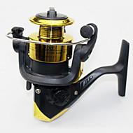 Molinetes de Isco 5.5:1 12 Rolamentos Trocável Pesca de Mar / Isco de Arremesso / Pesca de Água Doce-Baitcast Reels other