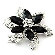 Fashion Alloy Acrylic Flower Brooches for Wedding