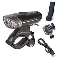 Čelovky / Světla na kolo / Přední světlo na kolo / Zadní světlo na kolo LED Cree Cyklistika Dobíjecí / protiskluzová / Snadnépřenášení