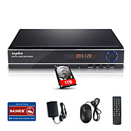 SANNCE® 8CH 1080N DVR Multi-mode input  eCloud HDMI 1080P/VGA/BNC Output-Real Time Remote View,Play Back 4CH CCTV System