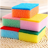 Kitchen Cleaning Sponge & Scouring Pad Tools,Sponge(Random Colours)